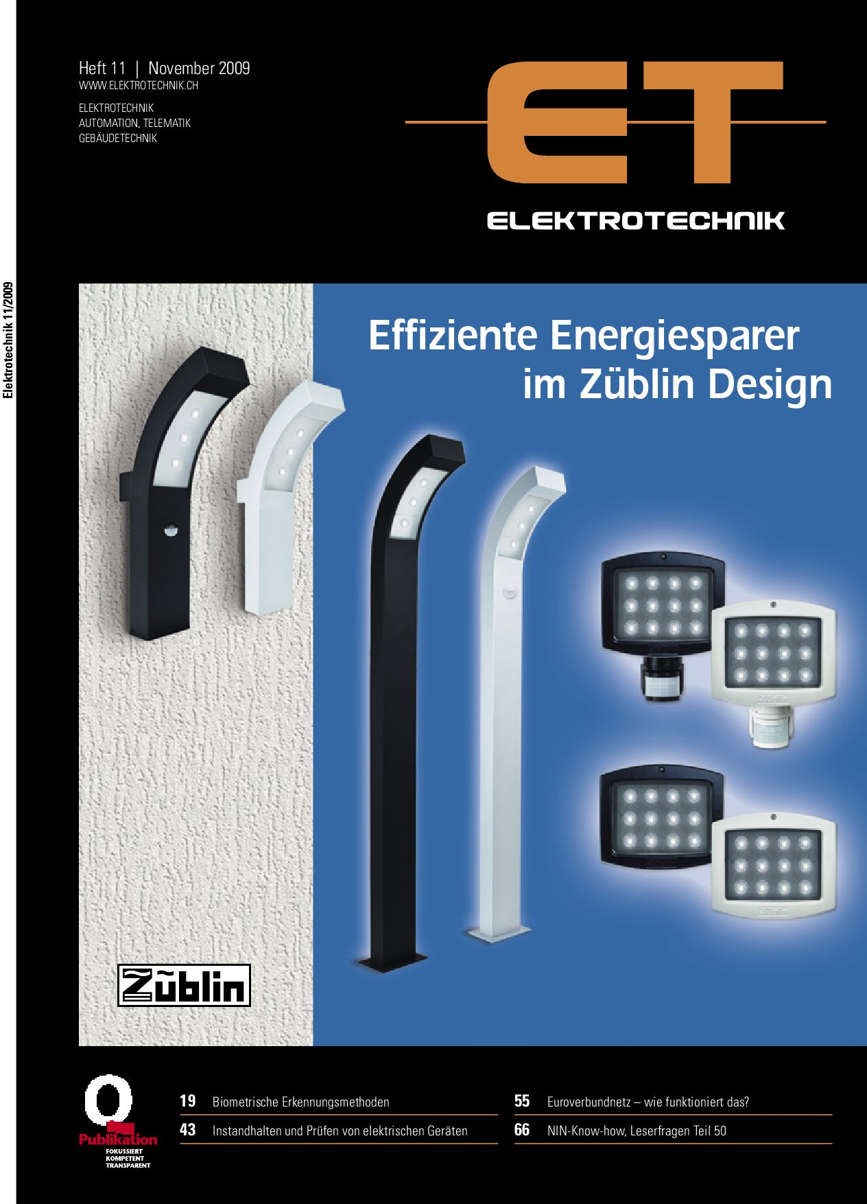 Elektrotechnik 2009/11 by Daniel Gugger - issuu