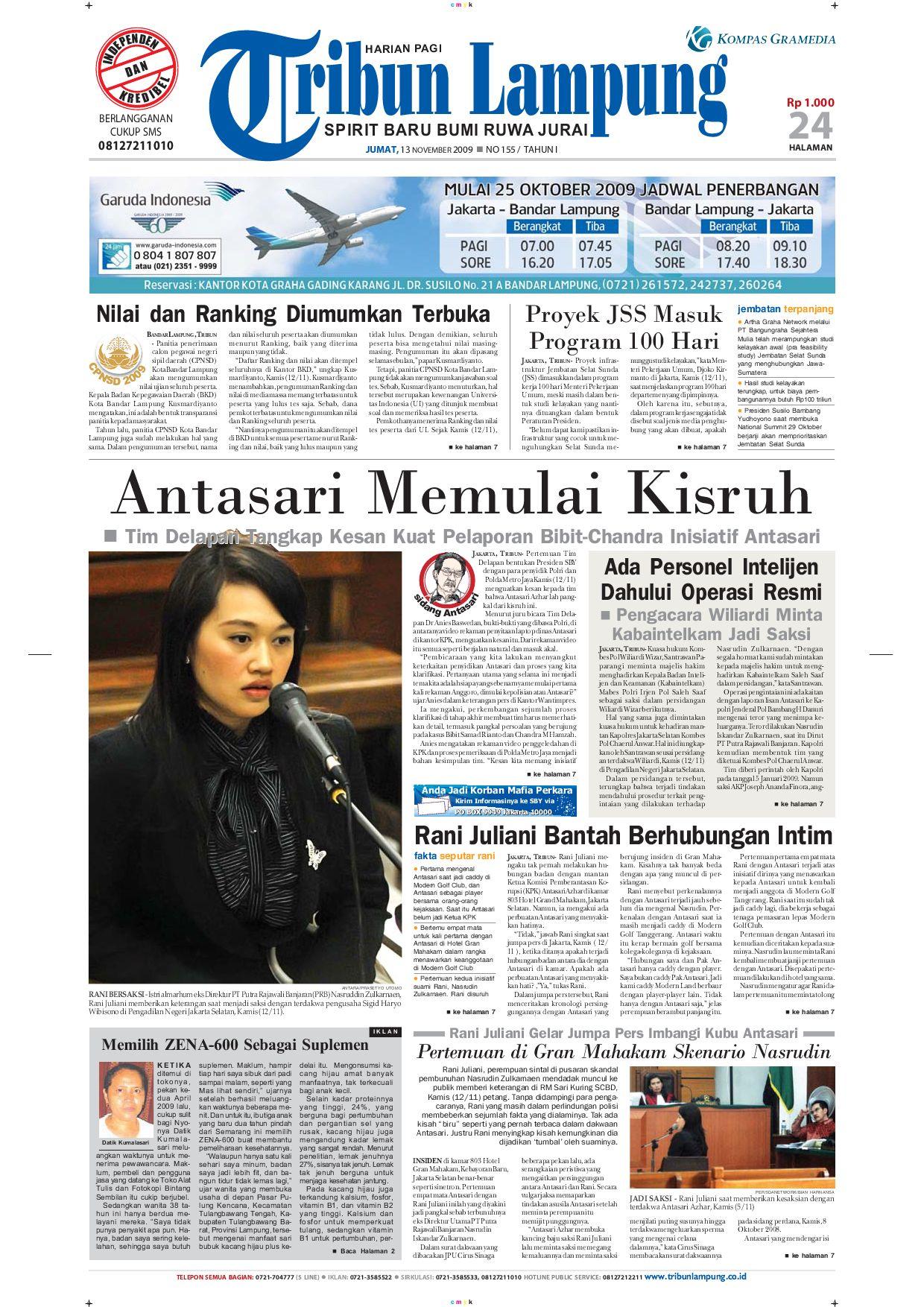 Tribun Lampung 14 Desember 2010 By Tribun Lampung Issuu # Muebles Koyga Vigo