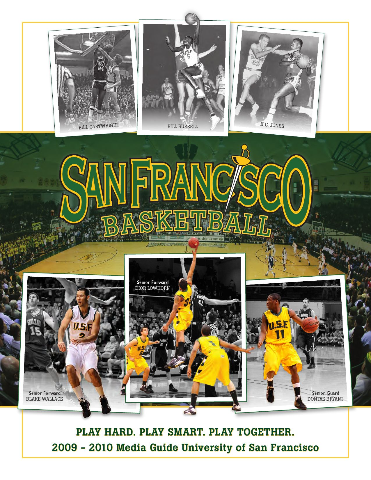 2009 10 usf men u0027s basketball media guide by university of san