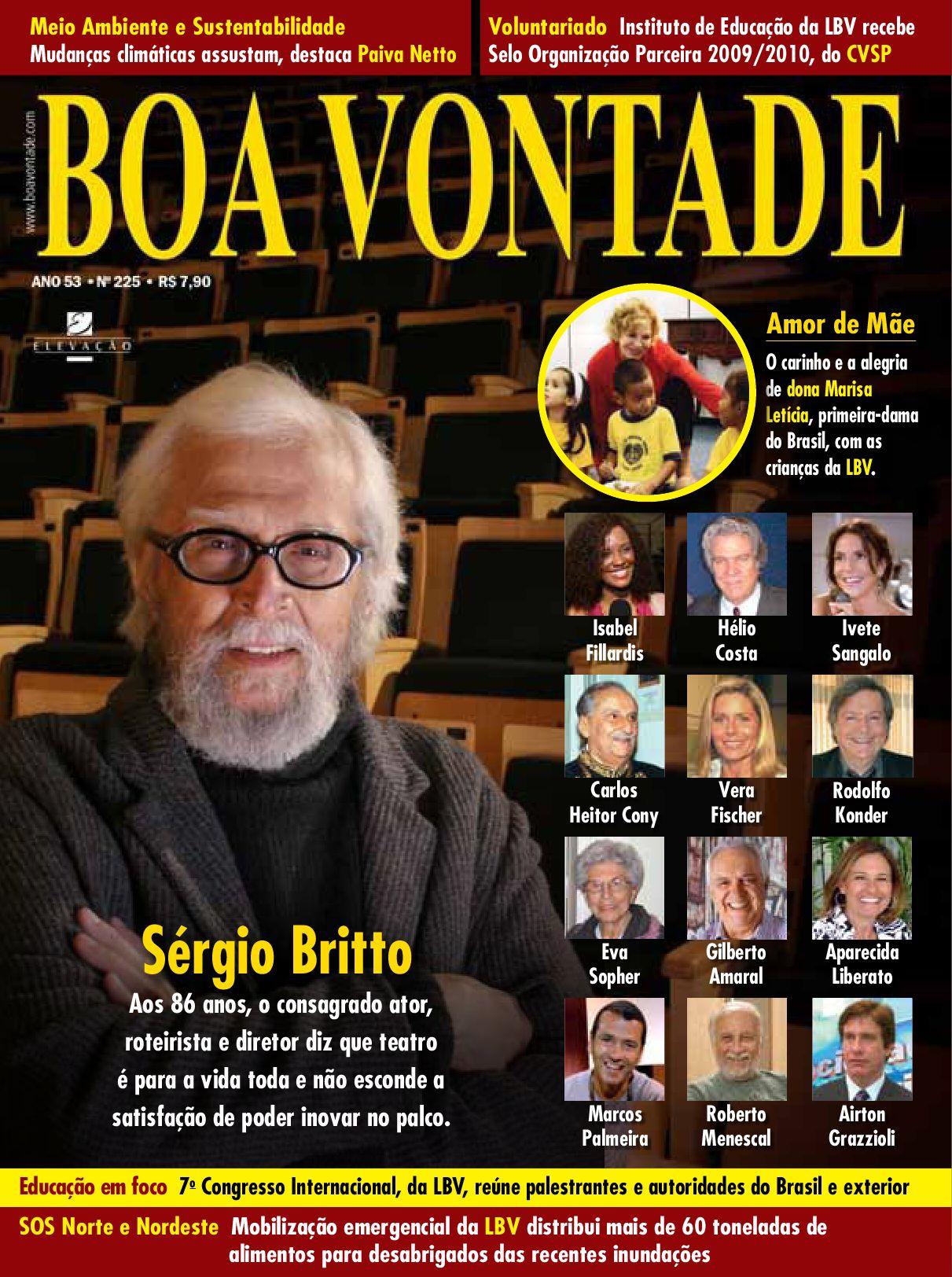 66e4e5f3f9b41 Revista Boa Vontade - Sérgio Britto by Portal Boa Vontade - issuu