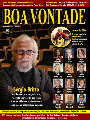 19a6c3b53b Revista Boa Vontade - Sérgio Britto by Portal Boa Vontade - issuu