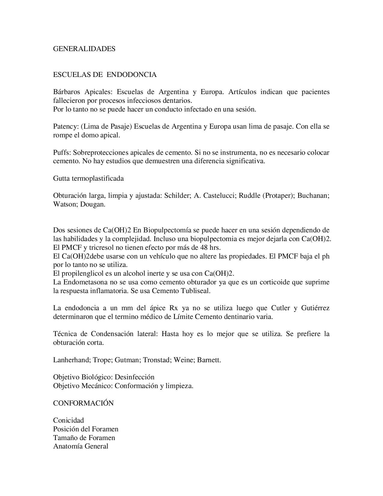 GENERALIDADES DE ENDODONCIA by GABRIELA SANCHEZ - issuu
