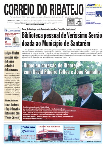 Edição N.º 6178, 13 de Novembro de 2009 by Correio do Ribatejo ... dd41b8089e
