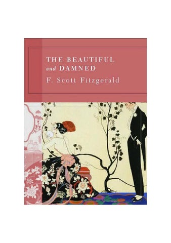 ba4ffe34c43 F. Scott Fitzgerald | The Beautiful and the Damned by Noel Palazzo ...