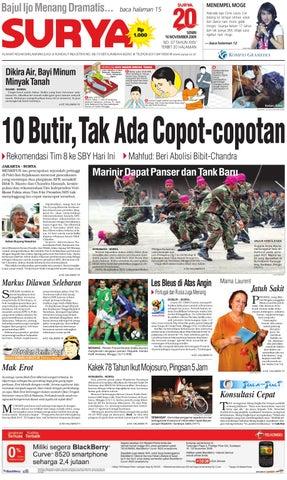 Surya Edisi Cetak 16 Nov 2009 by Harian SURYA - issuu 480fcf70f9