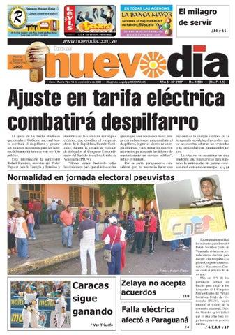 34aa593de Diario Nuevodia Lunes 16-11-2009 by Diario Nuevo Día - issuu