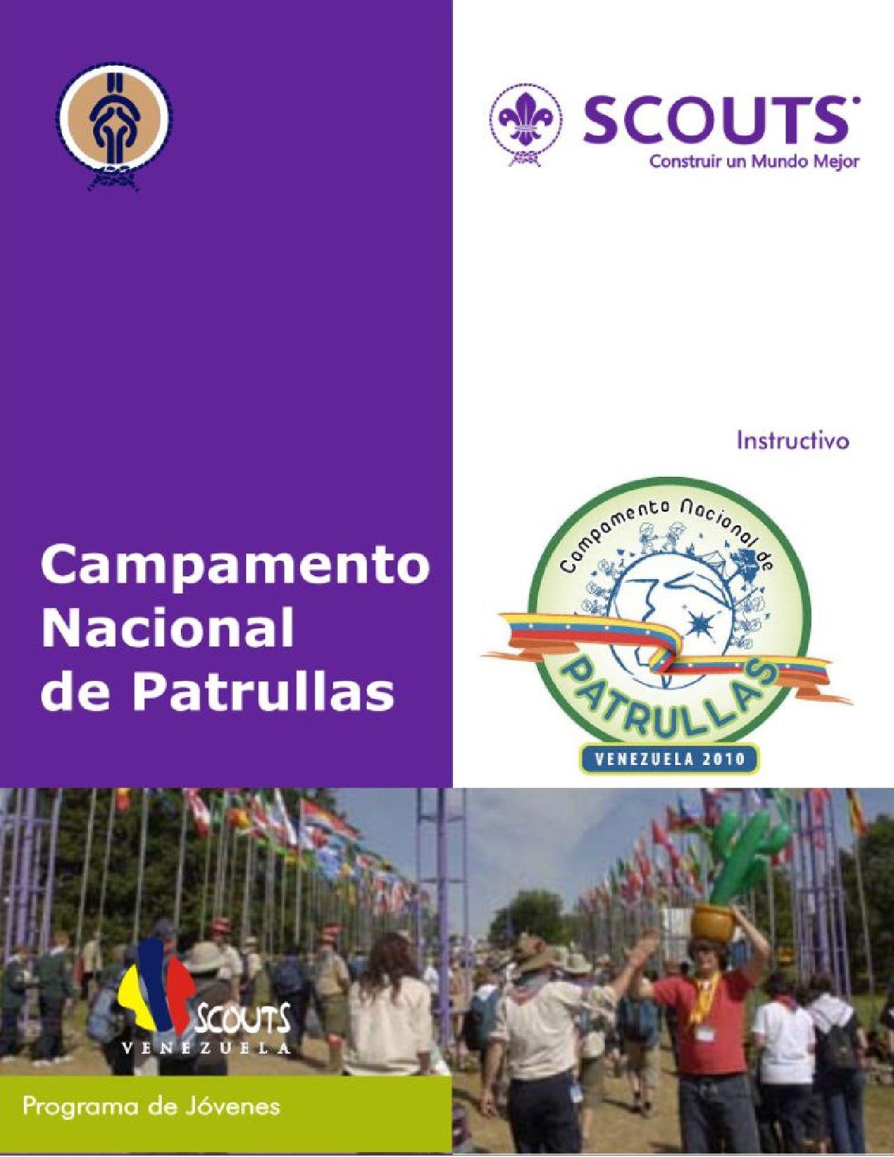 Campamento Nacional de Patrullas - Instructivo by Scouts Venezuela ...