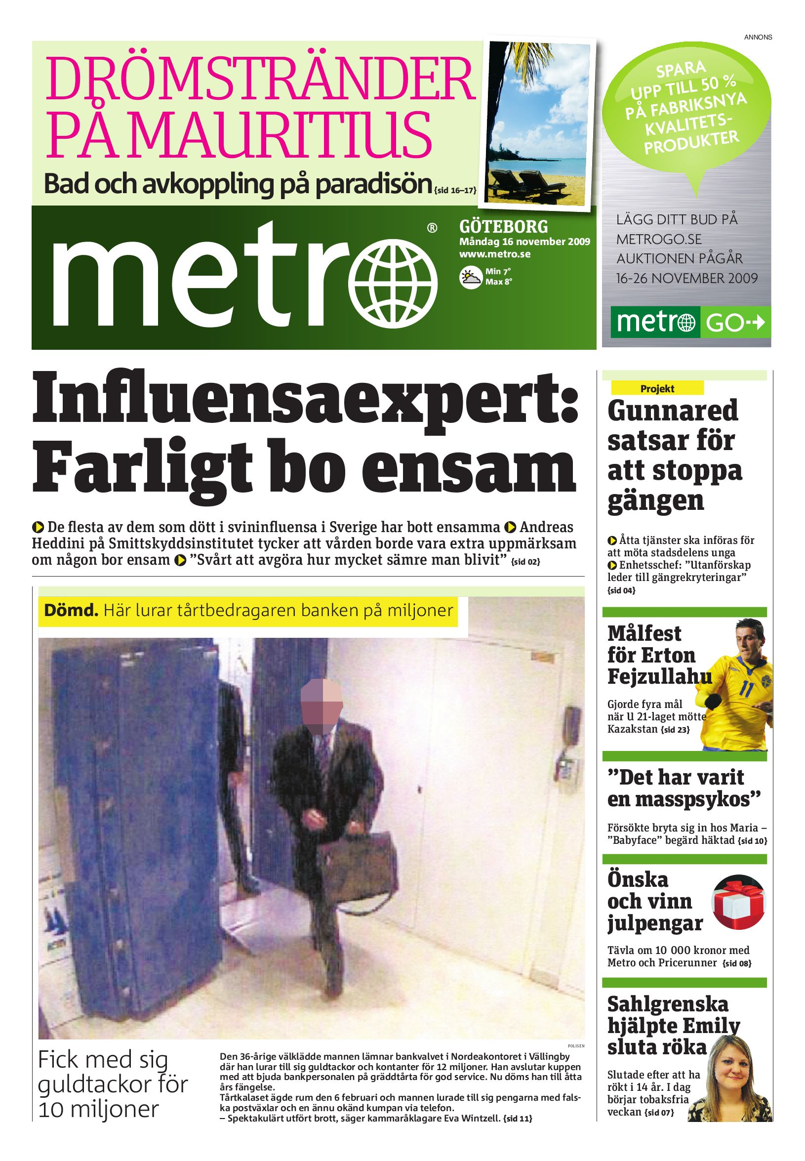 http   www.readmetro.com media archive pdf 20091116 Goteborg by Metro  International - issuu 6d3bb428b9941