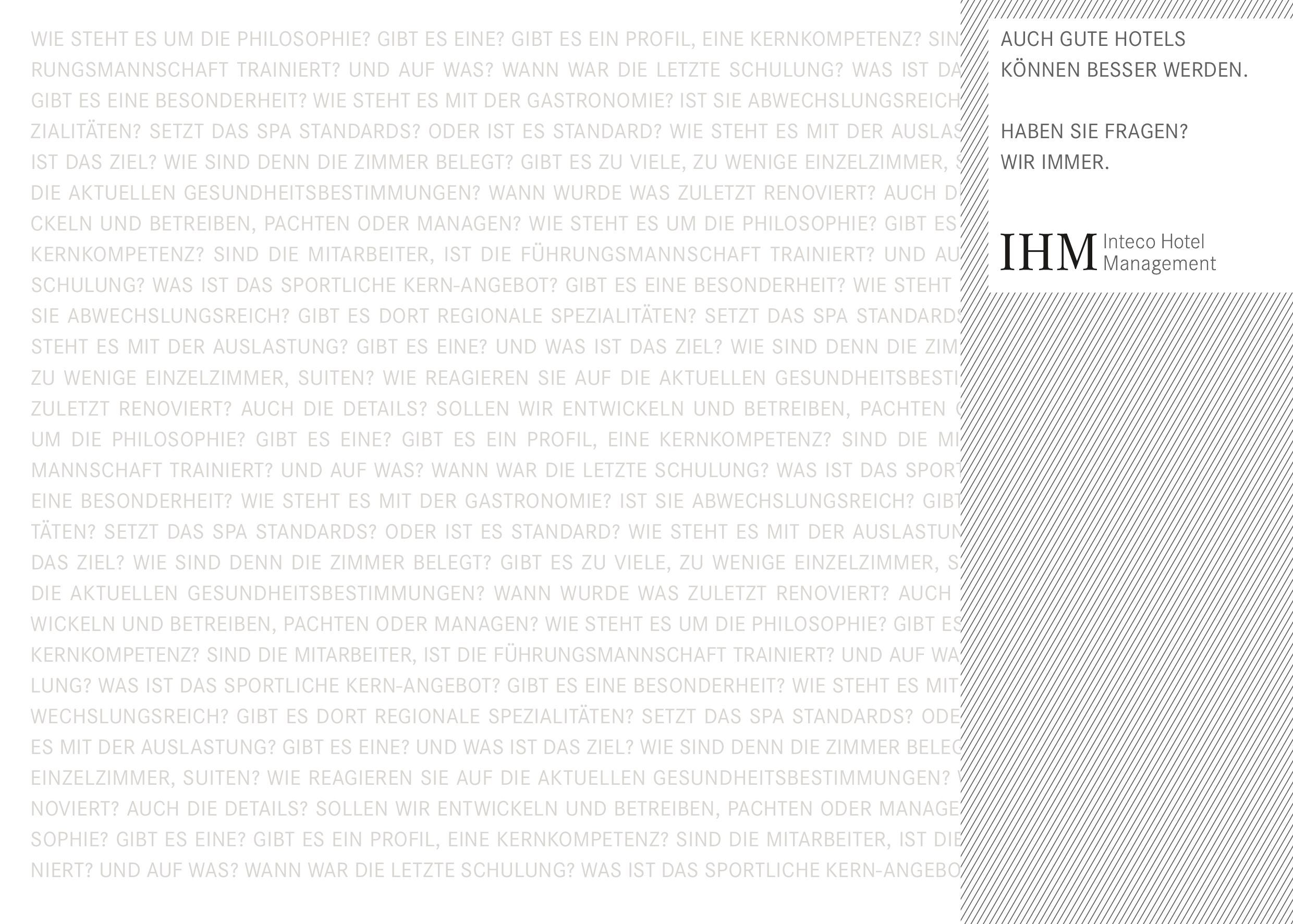 IHM Inteco Hotelmanagement Company (Brochure de) by Elisabeth ...