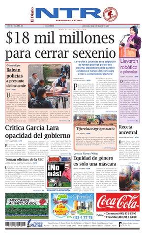 El Diario NTR by NTR Medios de Comunicación - issuu 5afba7347d5