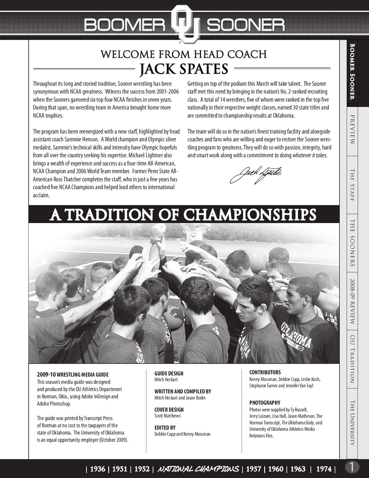 2009 10_ou_wrestling_guide by ou athletics issuu  buster and billie 1974 adobe.php #3