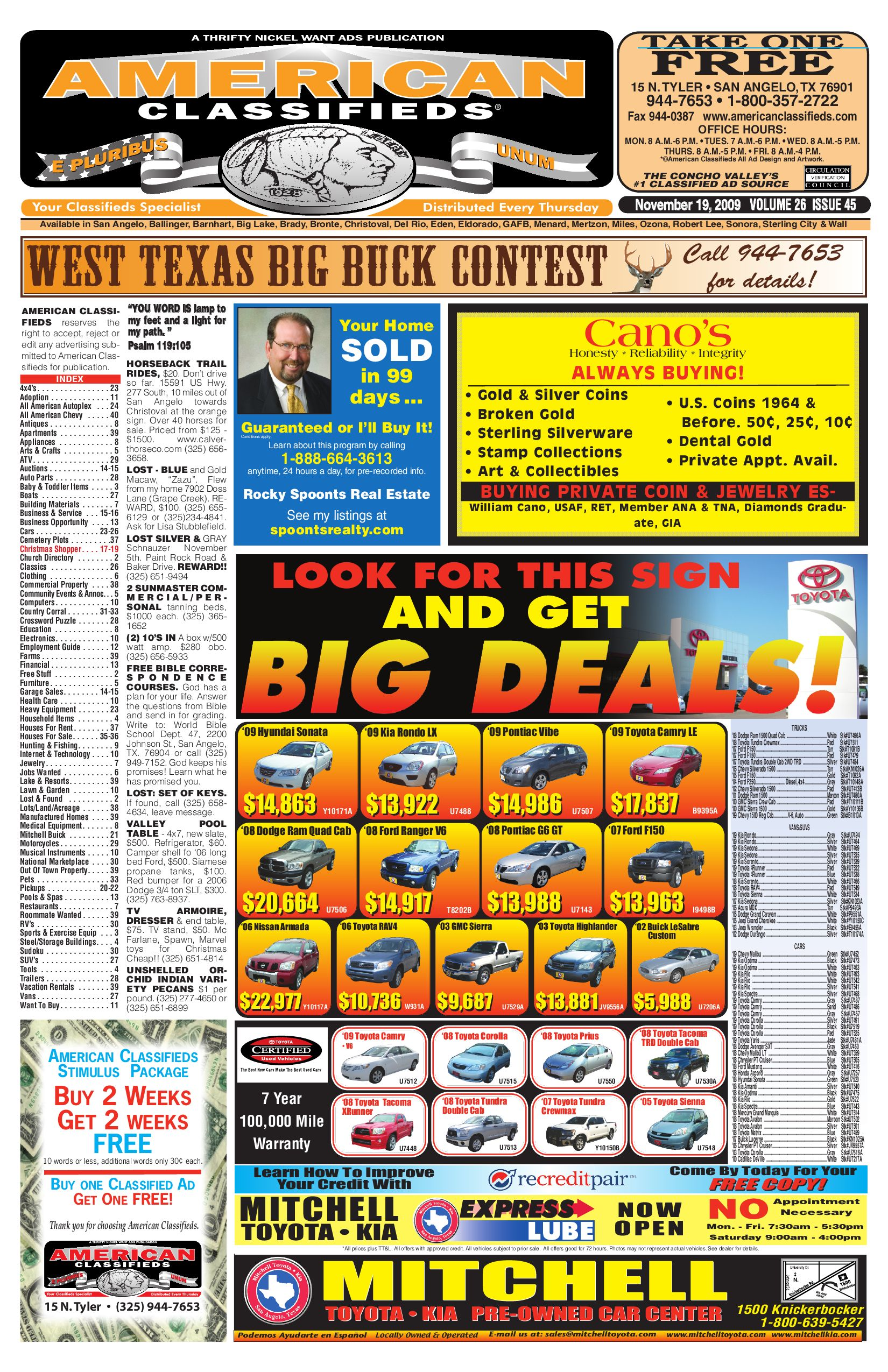 San Angelo American Classifieds By Remote Control Rc Mobil Super Heroes Avengers Civil War Mix 2409 Issuu