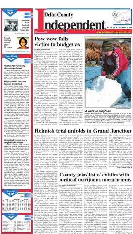 Delta County Independent Issue 46 By Delta County Independent Issuu