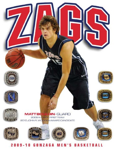 2009-10 Gonzaga Men s Basketball Media Guide by Gonzaga University ... 2cb3d0a87