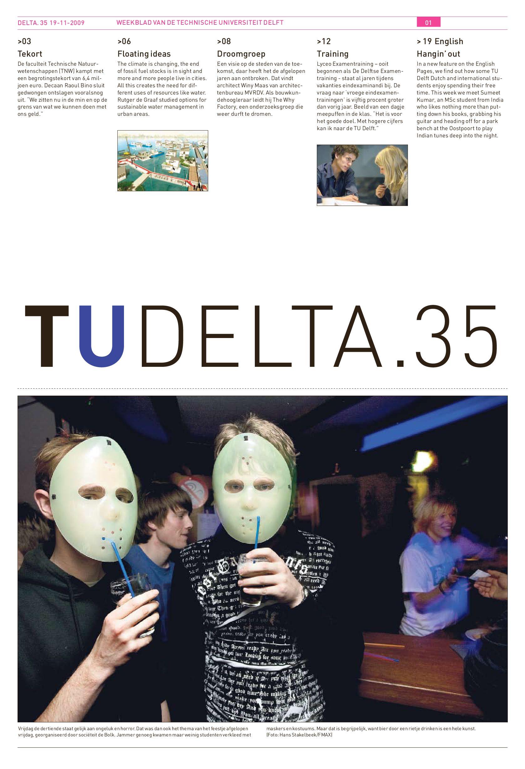 Delta - TU Delft by Delta en Delft Integraal Delft Outlook - issuu 2a102d3953