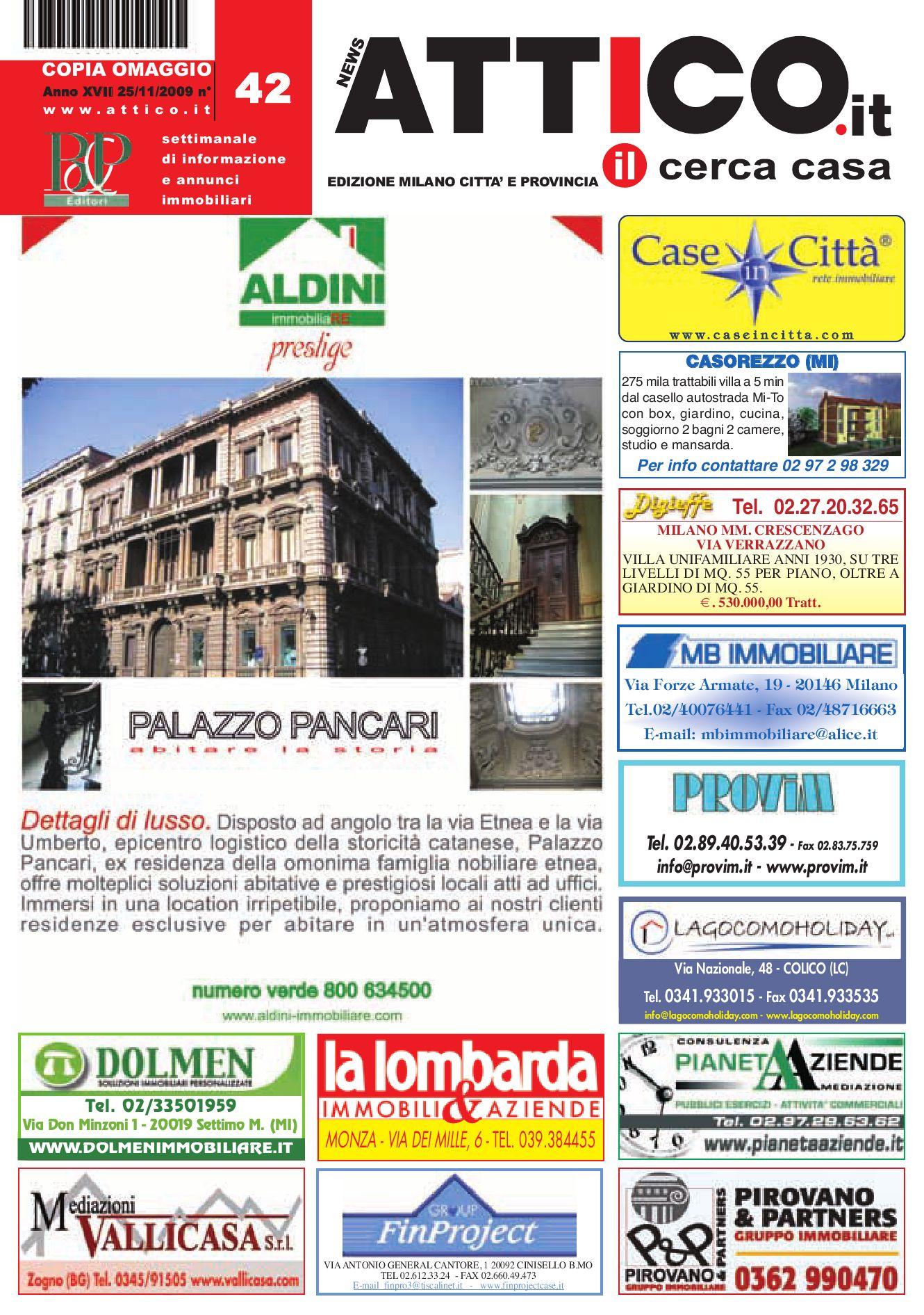 Attico Milano By B P Editori Issuu
