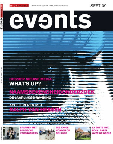 12ff818b2bd Events Magazine September 2009 by Events - issuu