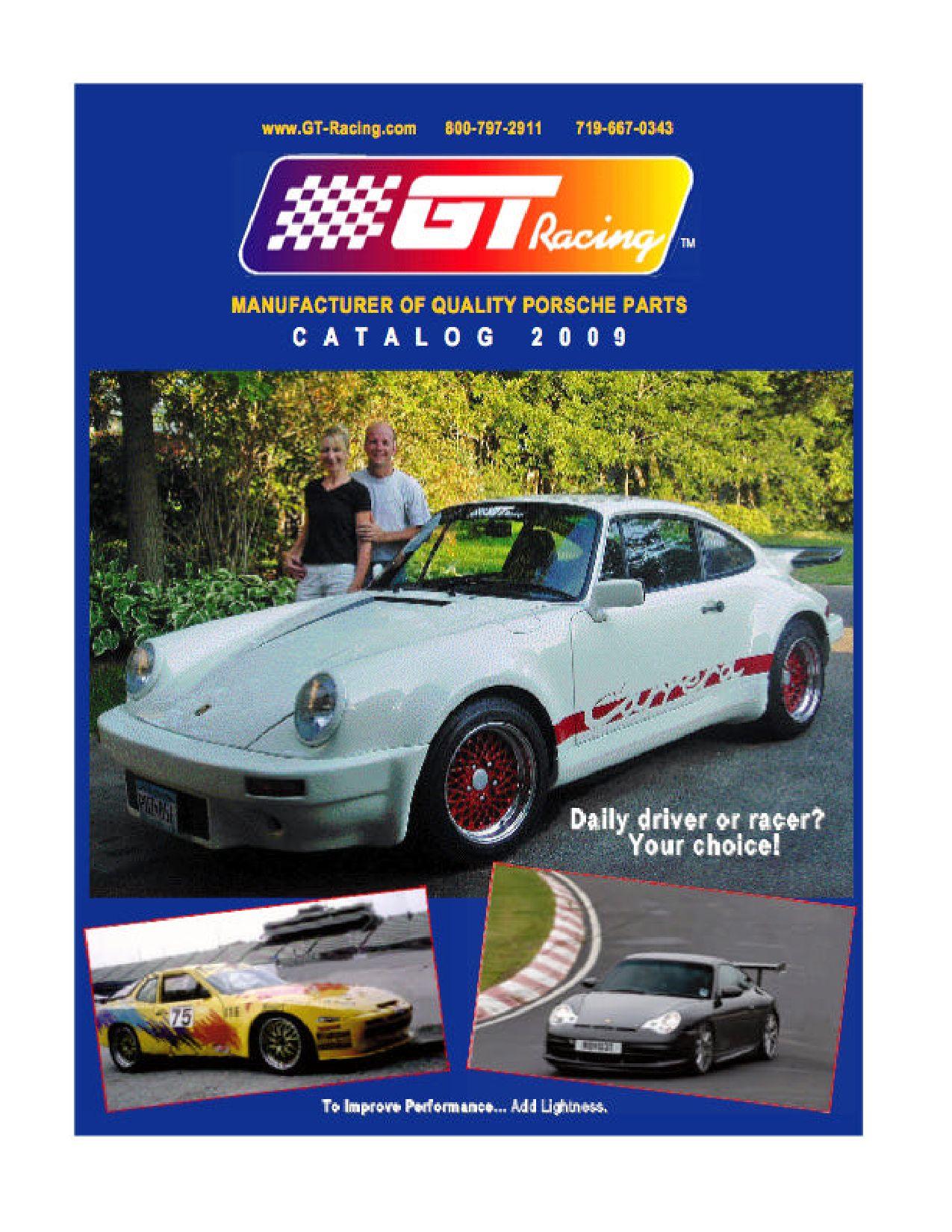 GT Racing Catalog by smokemuse - issuu