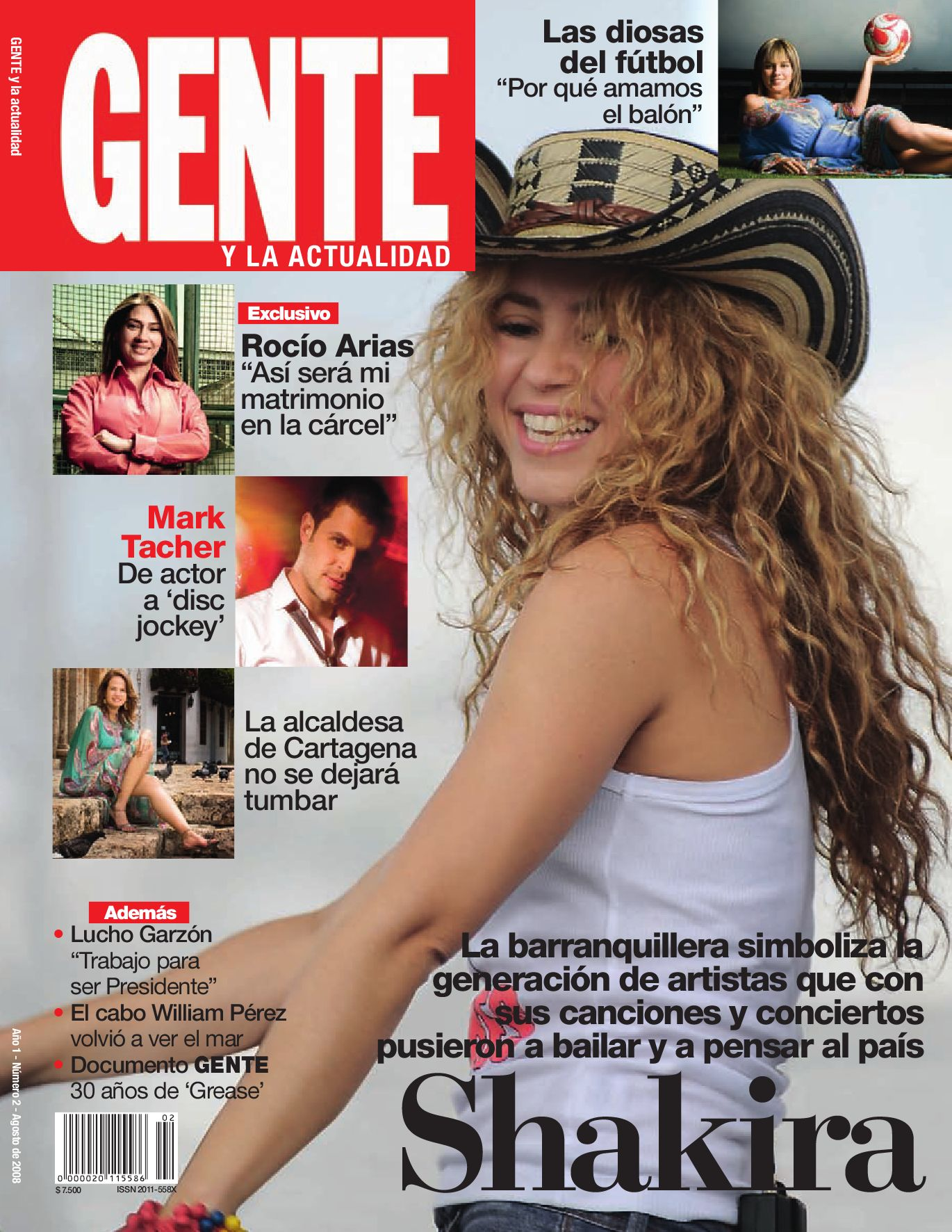 29f3c8f41f Shakira by Revista Gente Colombia - issuu
