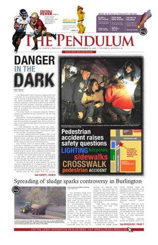 The Pendulum November 18, 2009 Issue