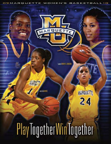 purchase cheap ac4d7 4a2f3 2009-10 Marquette Women s Basketball Media Guide by Marquette ...
