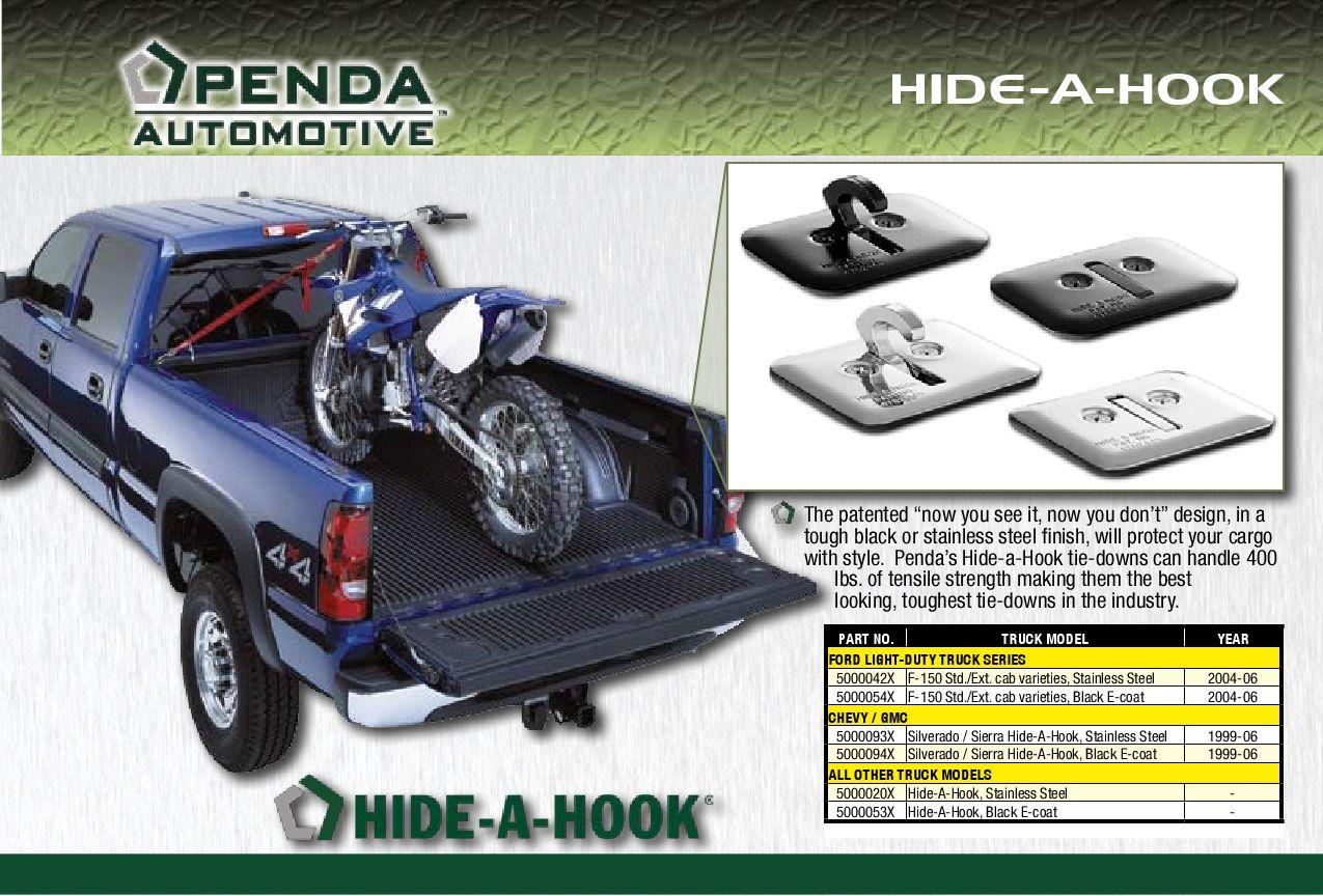 Penda 5000094X Black Tie-Down