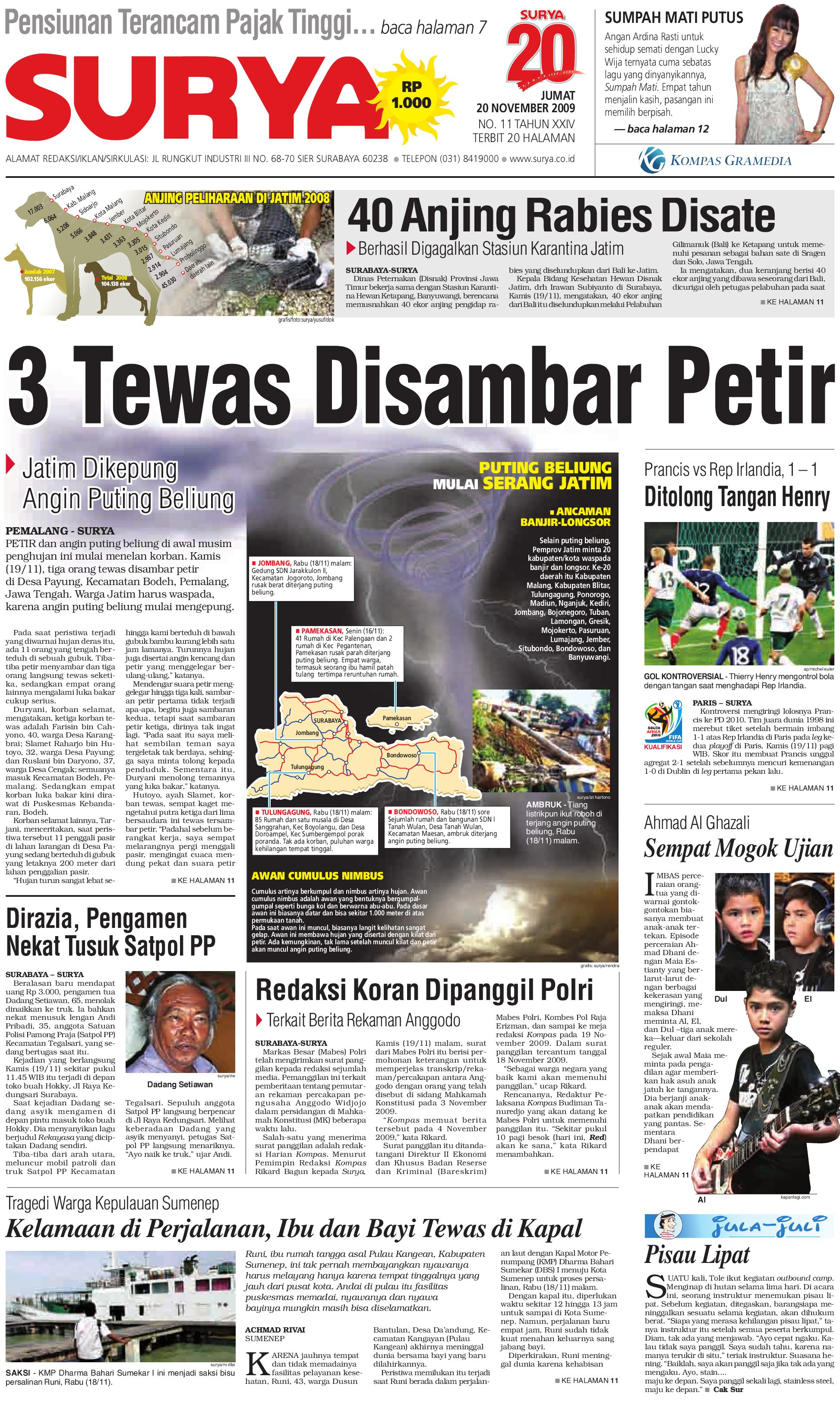 e paper surya edisi 16 februari 2013 by harian surya issuu