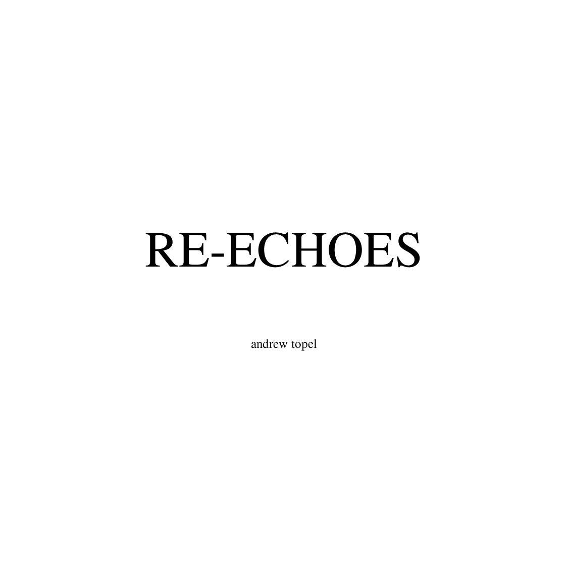 Re Echoes By Avantacular Press Issuu Relay 12 Volt 5 Kaki