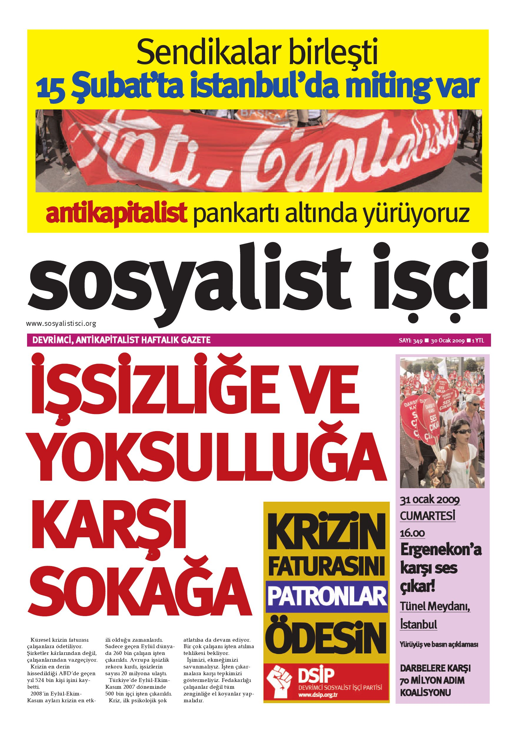 Sosyalist Isci 349 By Sosyalist Isci Issuu