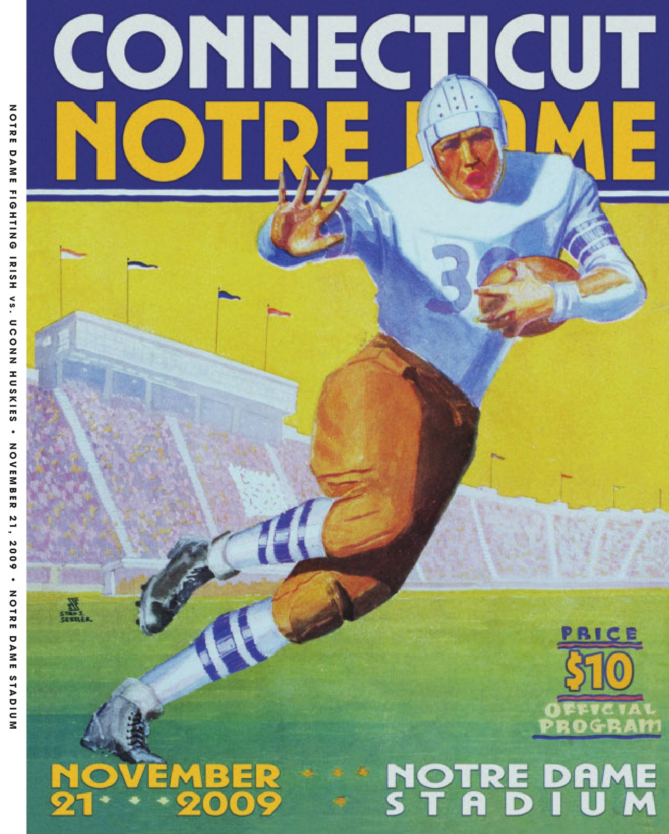 f297e4a40d5815 2009 Notre Dame Football Game Program - Connecticut by Chris Masters - issuu