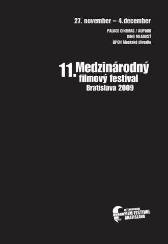 d770647dea59 International Film Festival Bratislava 2009 by laco nemeth - issuu
