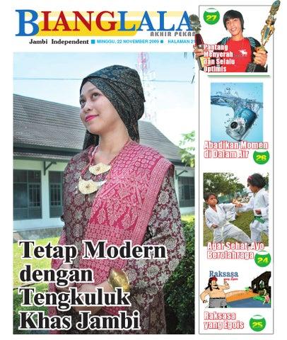 Bianglala Edisi Akhir Pekan Minggu ke 04 November 2009 by jambi ... 96974ff883