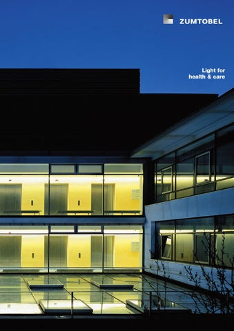 Page 1 & Zumtobel Light for health u0026 care by lightonline - issuu