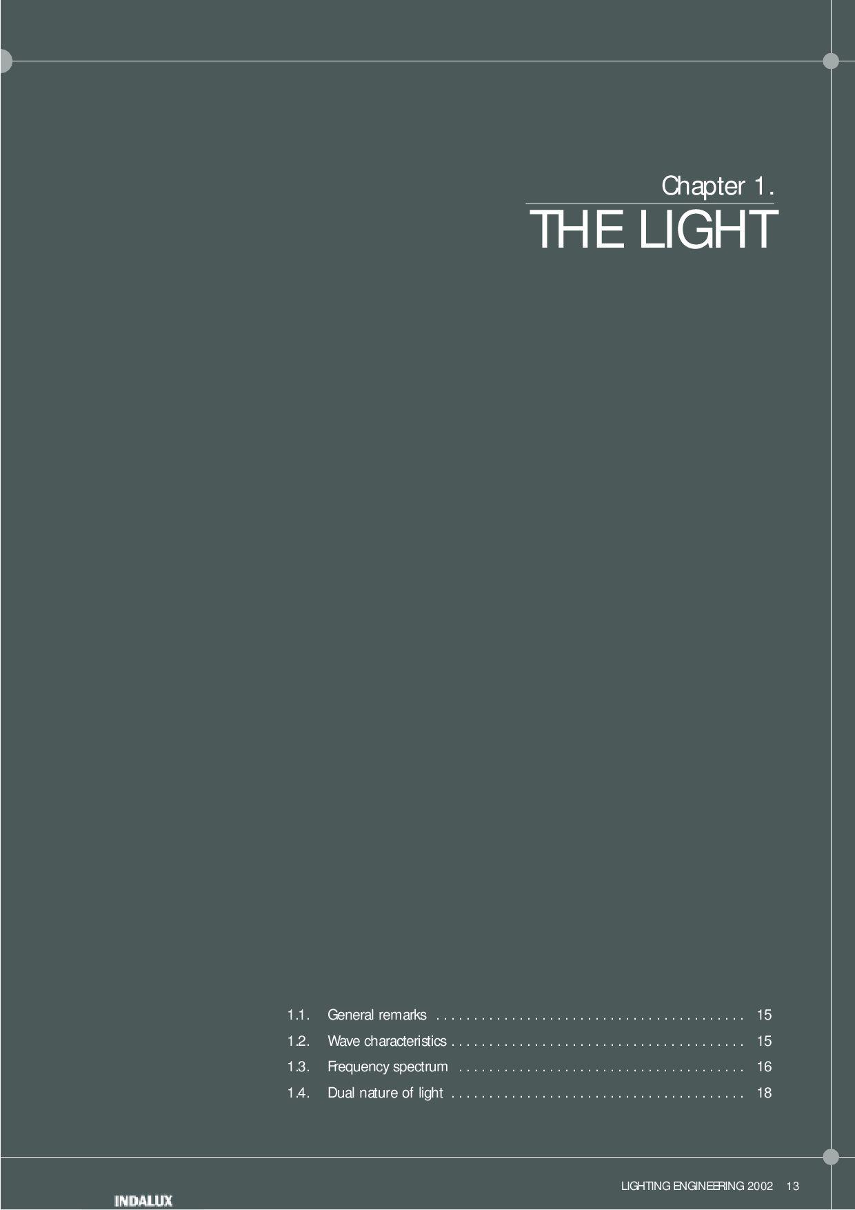 Lighting Handbook INDALUX 2002 By Lightonline Issuu