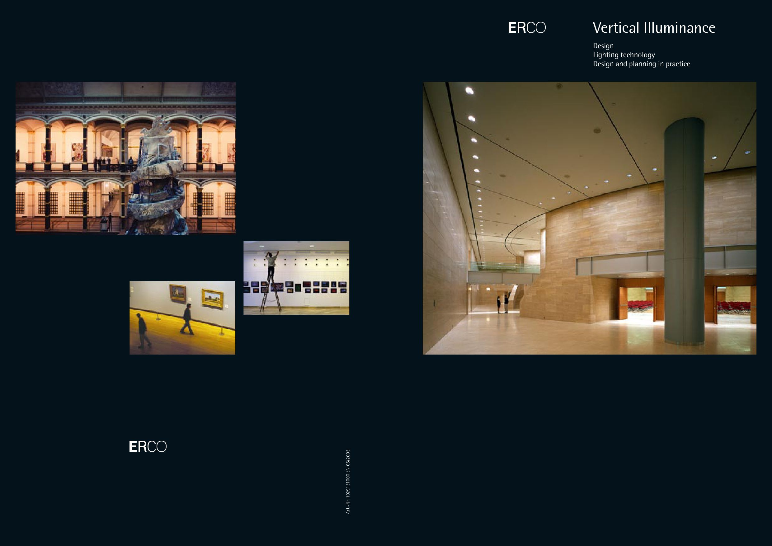 Erco Vertical Illuminance Design Lighting Technology
