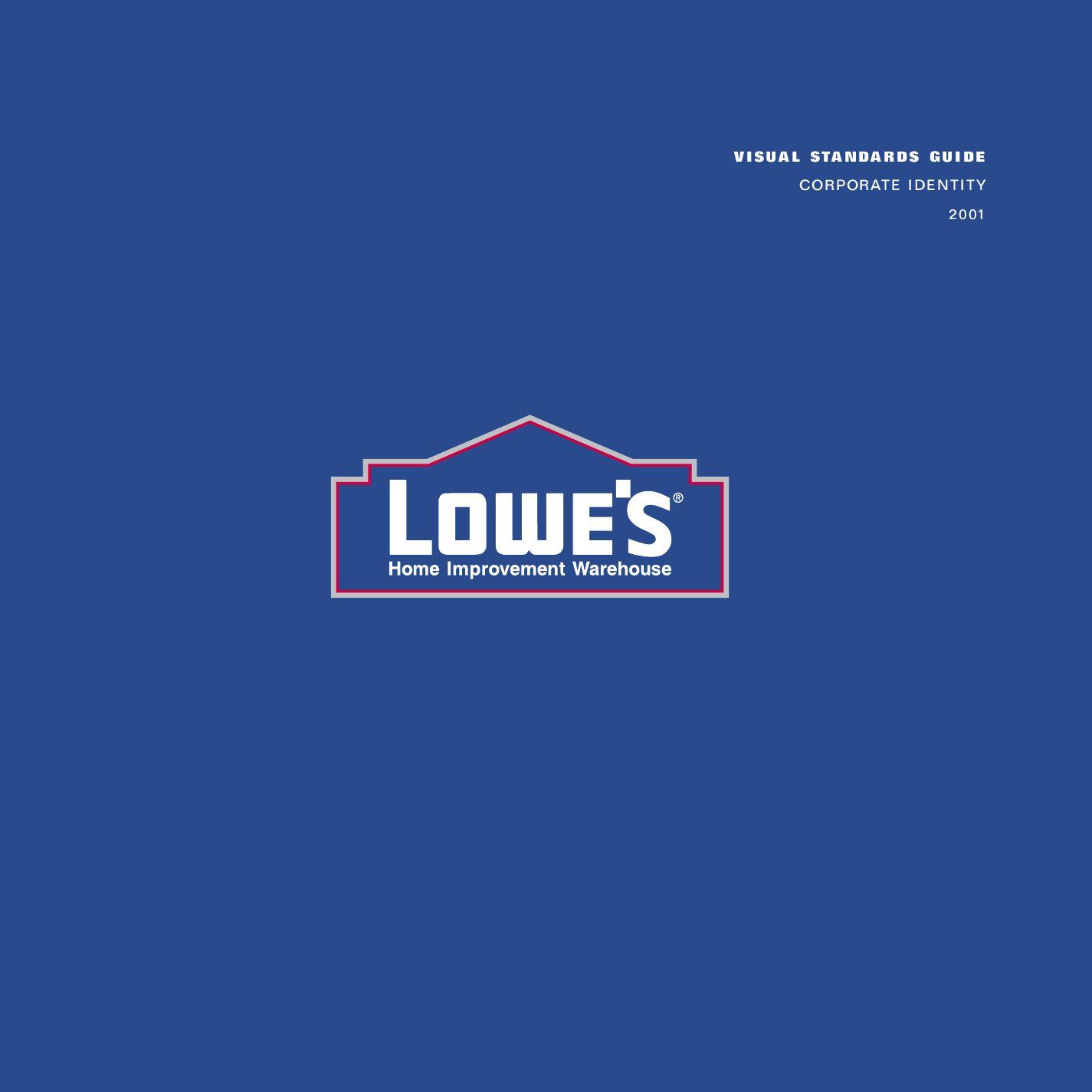 Lowes Corporate Identity Brandbook By Gabychev Alex Issuu