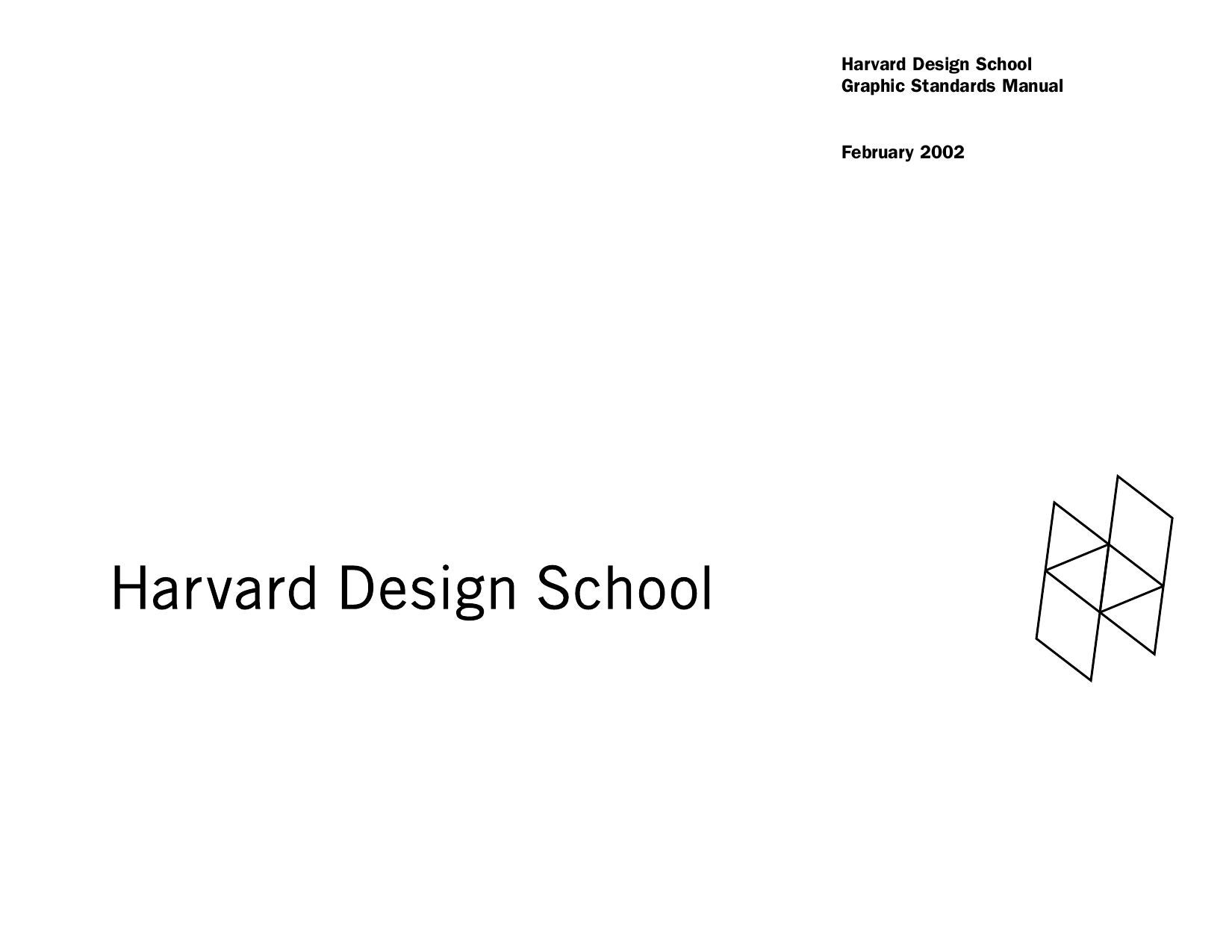 Harvard design school manual by gabychev alex issuu reheart Image collections