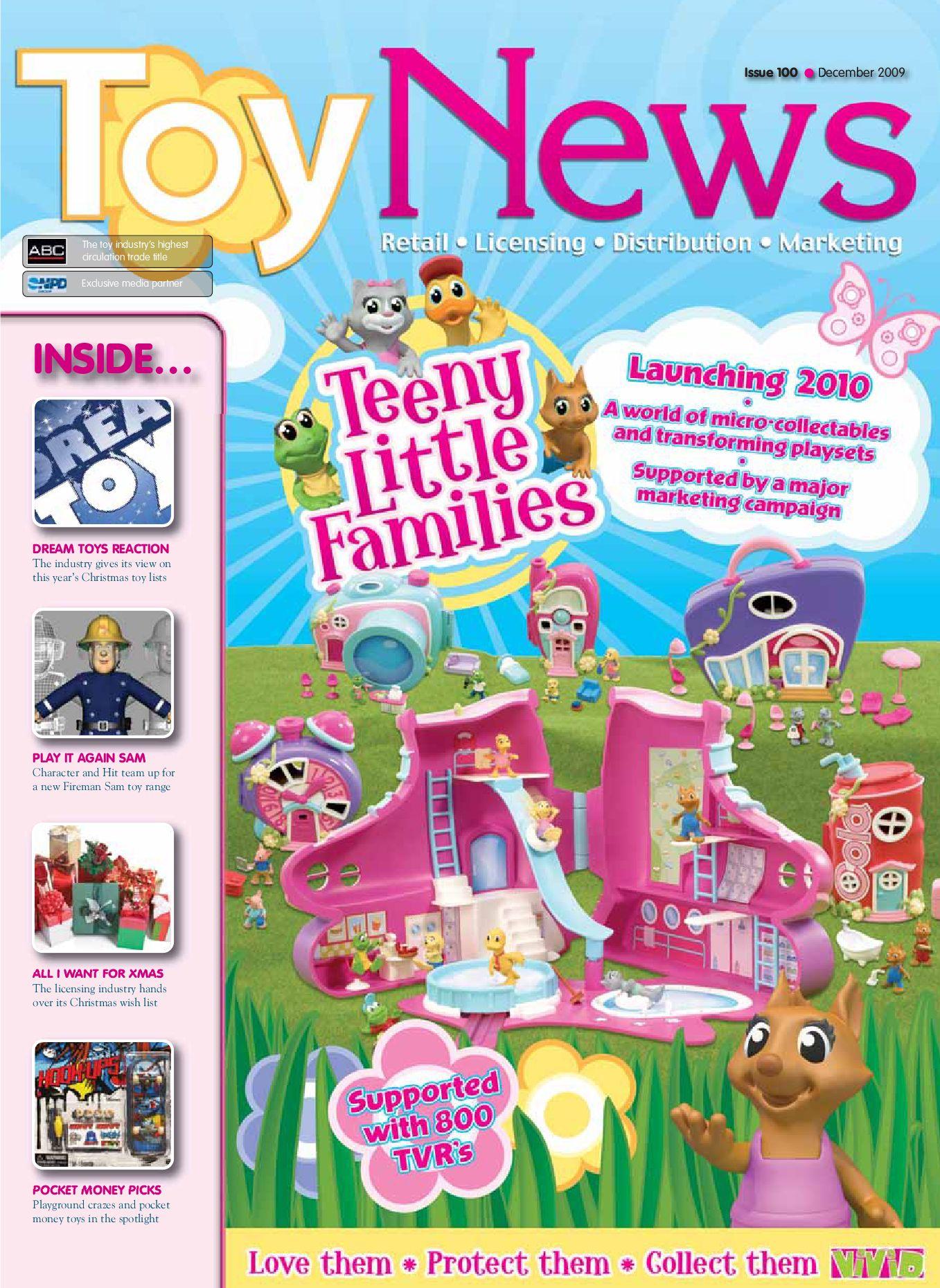 Toynews Issue 100 December 2009 By Intent Media Now Newbay Media  # Muebles Bima La Boyera