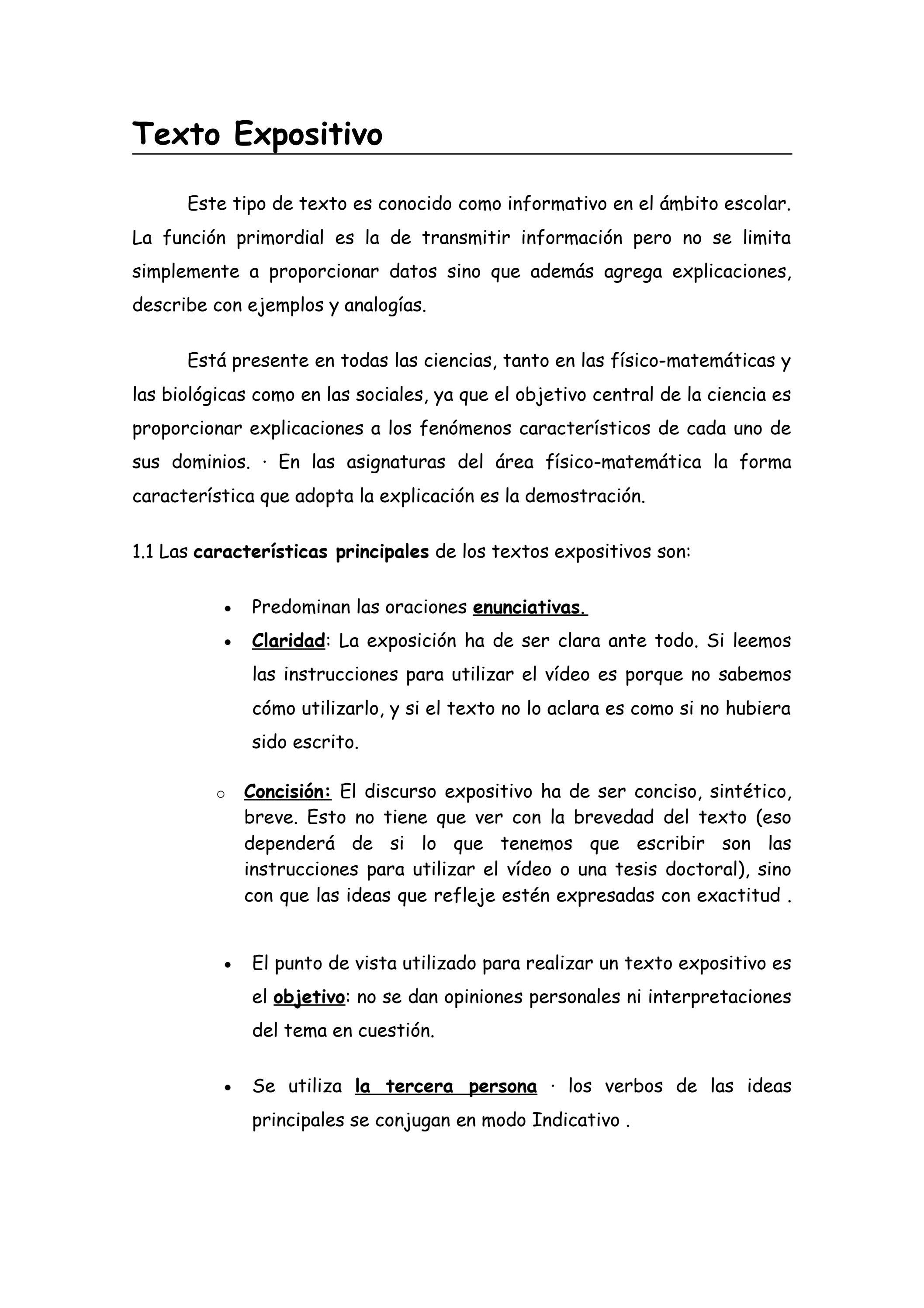 Texto Expositivo By Silvia Manzanero Issuu