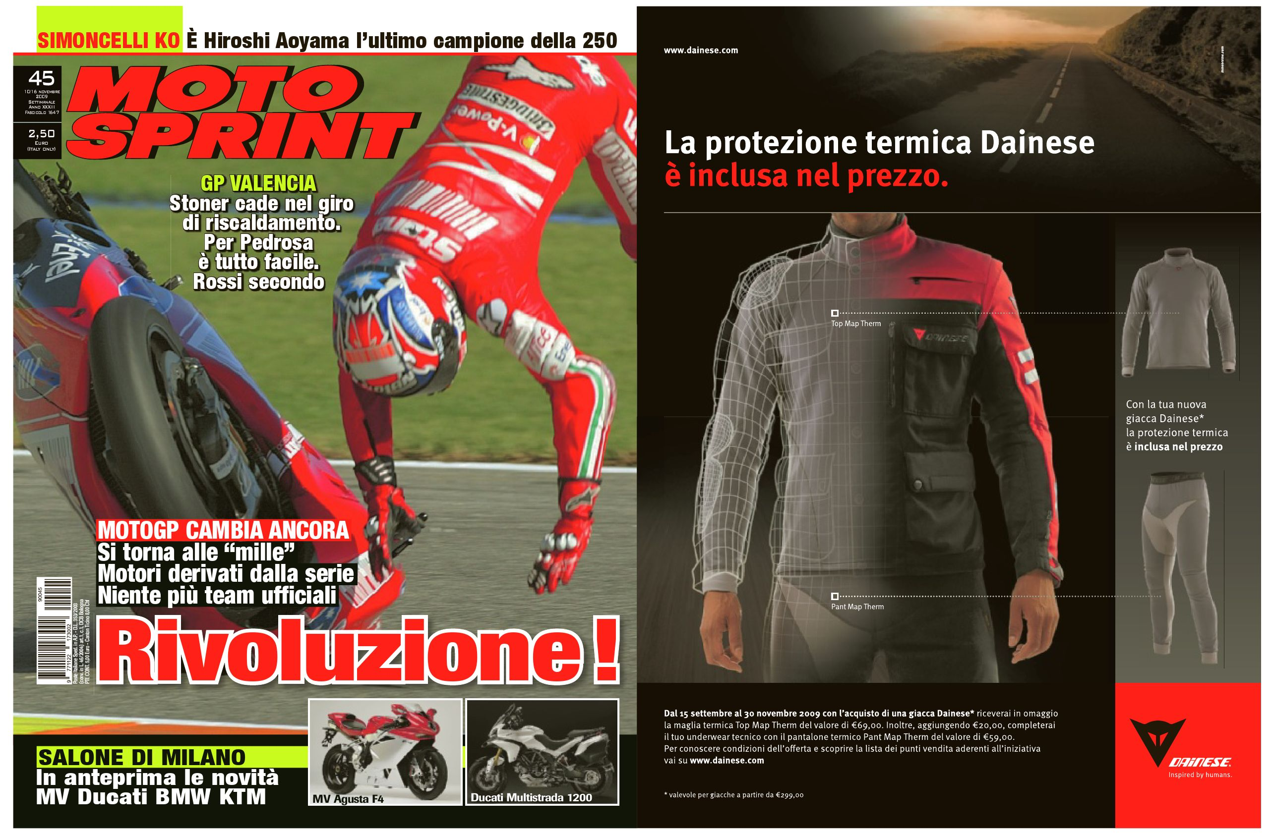 Motosprint   45 by Divisione Multimedia Sport Network SRL - issuu f113b3a9453b