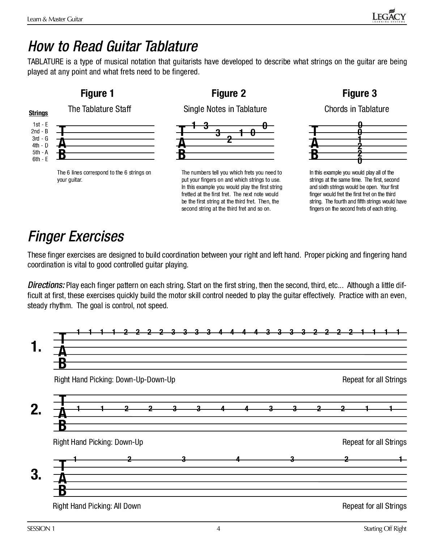Learn & Master Guitar Lesson Book PDF by Biblioteca Musical - issuu