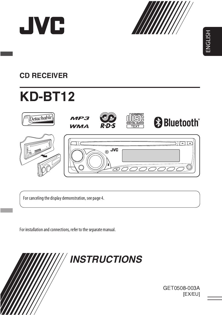 Jvc Kd Bt12 Owner S Manual By Car Audio Issuu