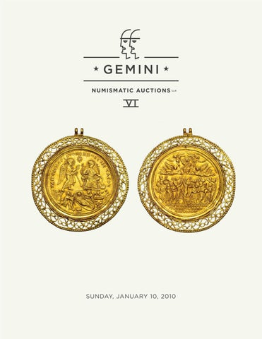 Gemini Numismatic Auctions Vi By Harlan J Berk Ltd Issuu