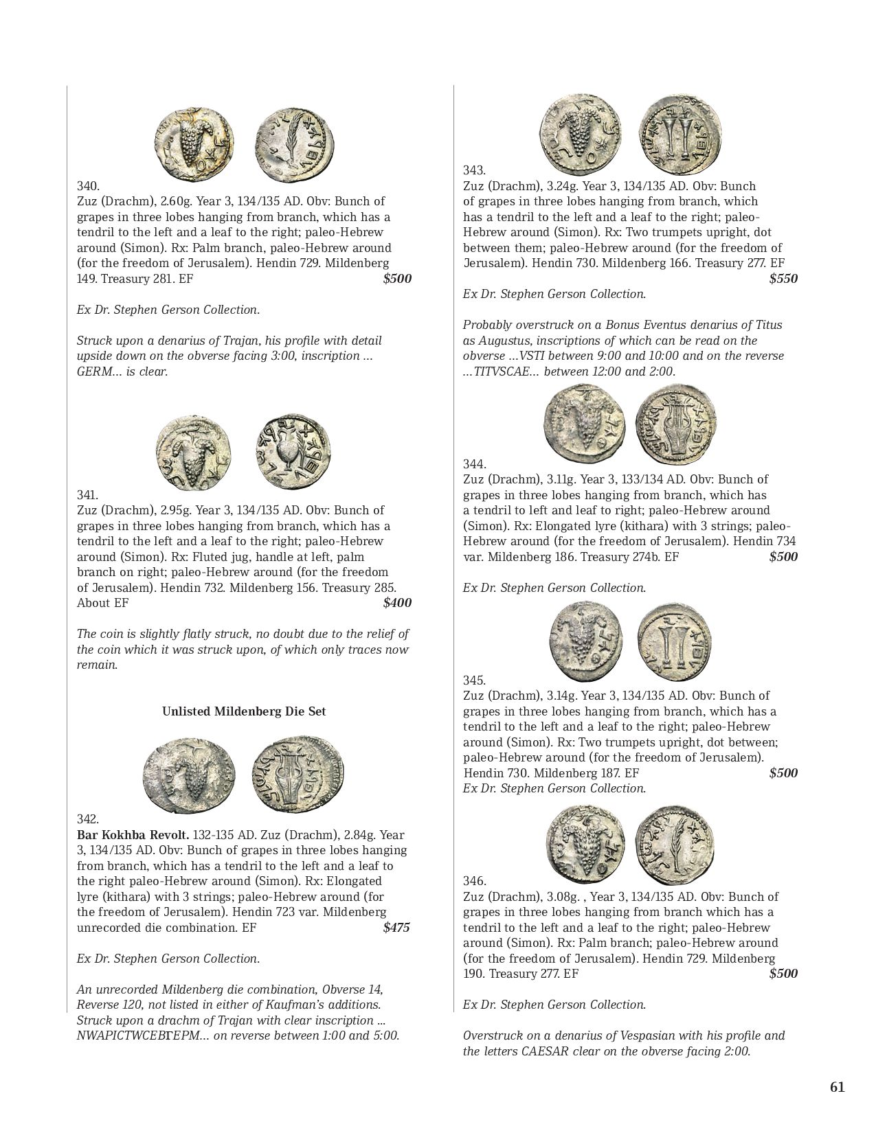 Gemini Numismatic Auctions VI by Harlan J  Berk, Ltd  - issuu
