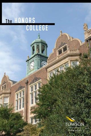 towson university application essay