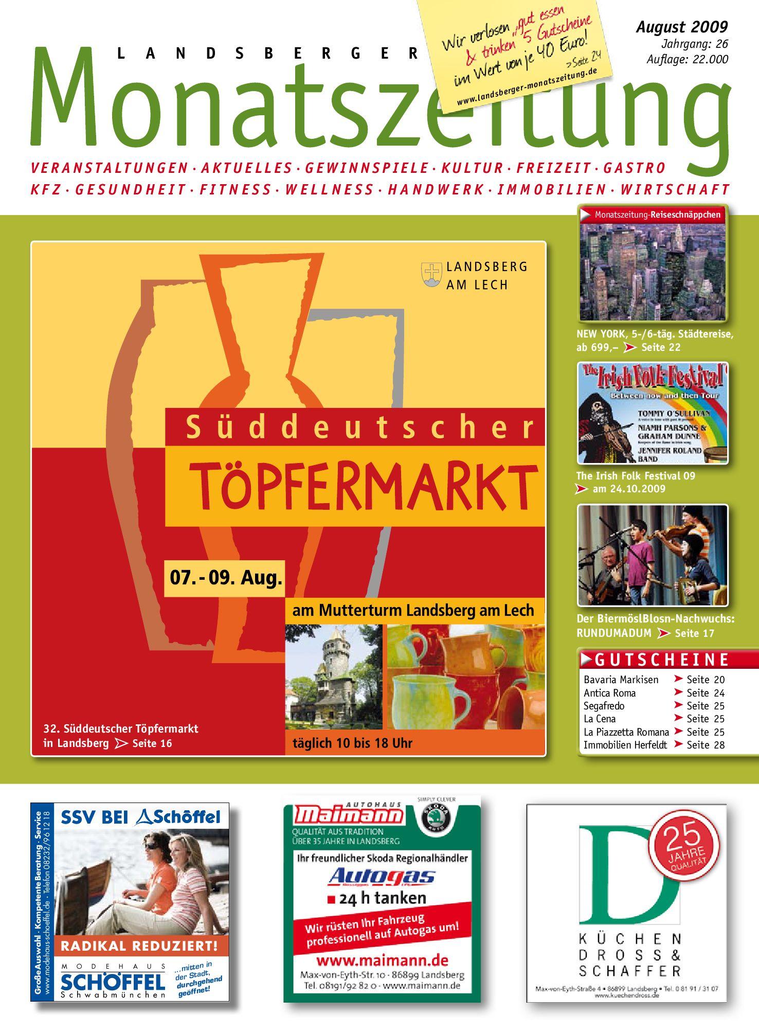 Landsberger Monatszeitung August 20 by Marcus Knöferl   issuu
