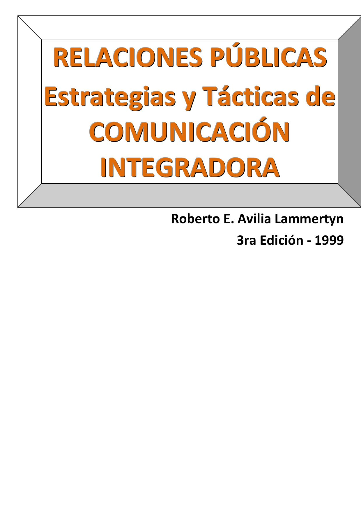 RRPP - Comunicacion Integradora by Roberto Avilia - issuu