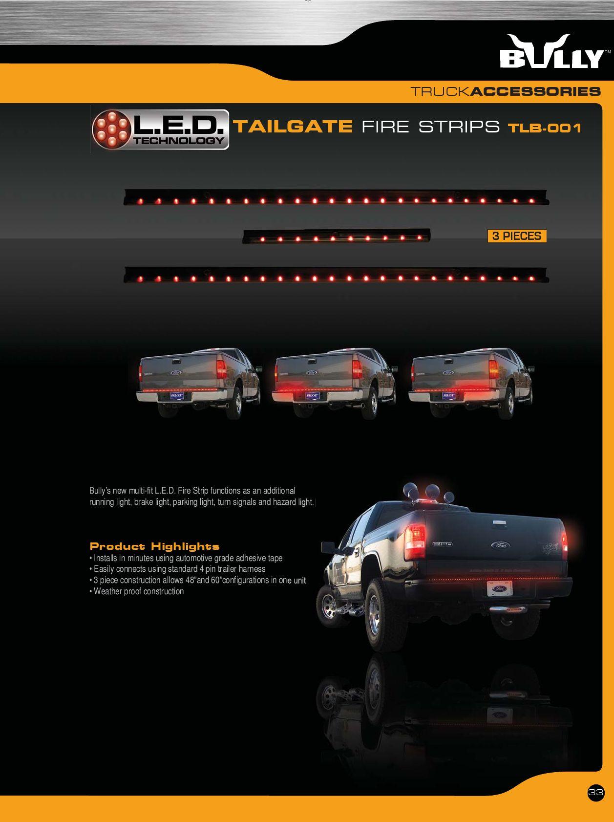 Bully TLB-003 LED Strip Brake Light