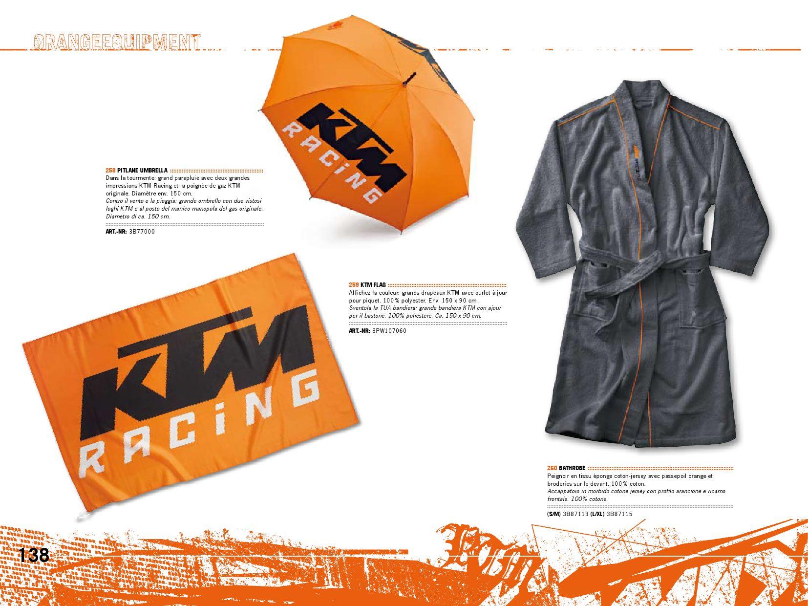 Bandiera originale PowerWear KTM Ktm