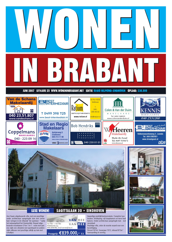 Wonen In Brabant By Reinier Van Den Eerenbeemt Issuu